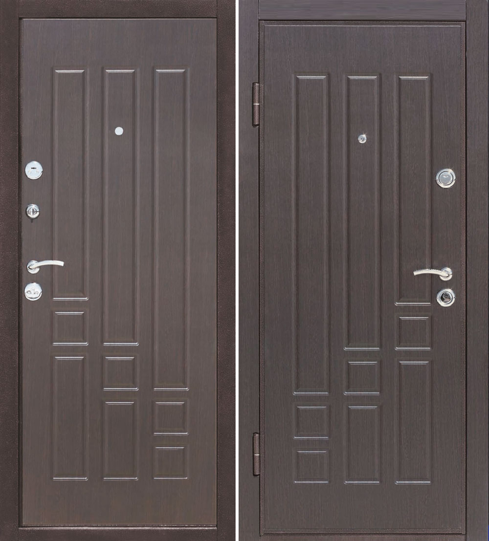 входная дверь купить мдф венге
